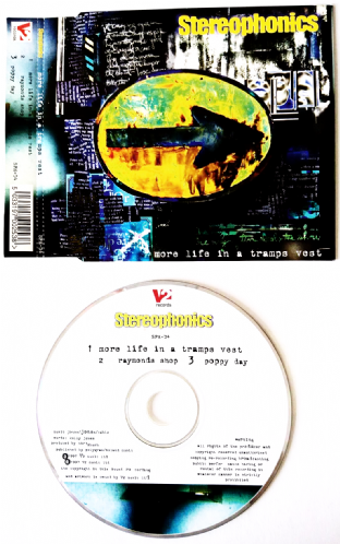Stereophonics ‎- More Life In A Tramps Vest (CD Single Pt 1) (VG-/EX)